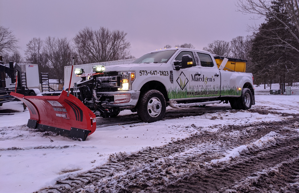 Residential Snow Plowing Services